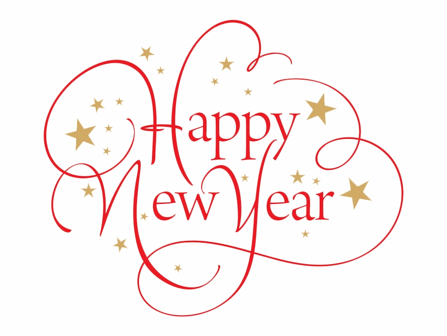 Happy New Year Png File.
