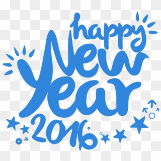 Happy New Year 2016 PNG Images, Free Transparent Image Download.