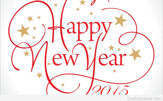 Clip art Happy new year.