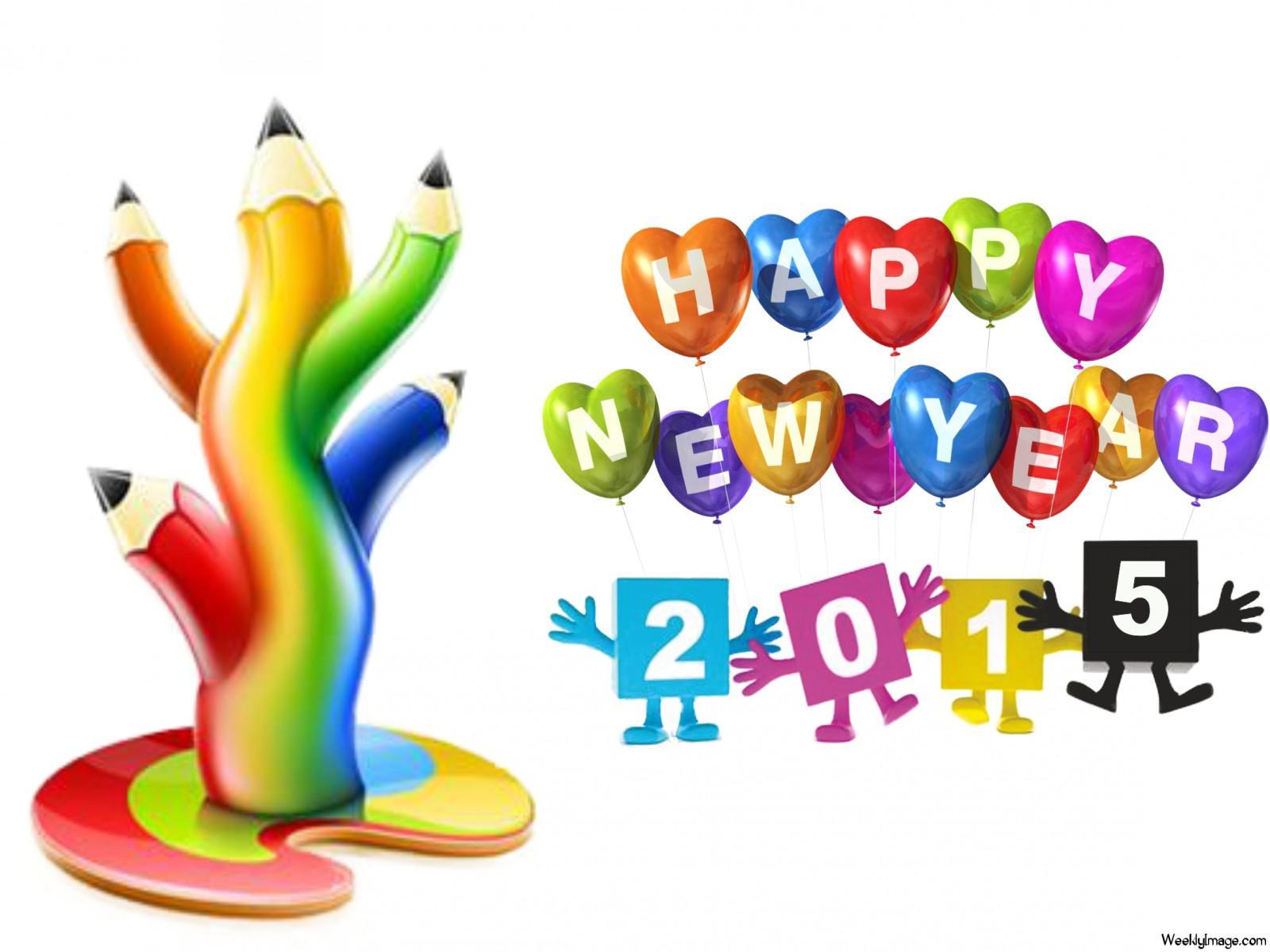 Free download HD happy new year 2015 cartoon Wallpaper best.