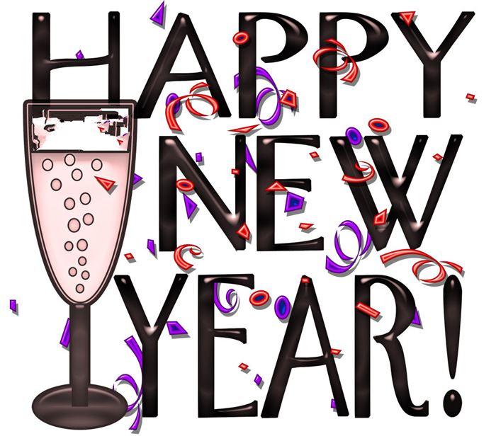 Clip Art Happy New Year 2015 N20 free image.