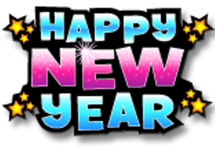 Happy new years clipart.