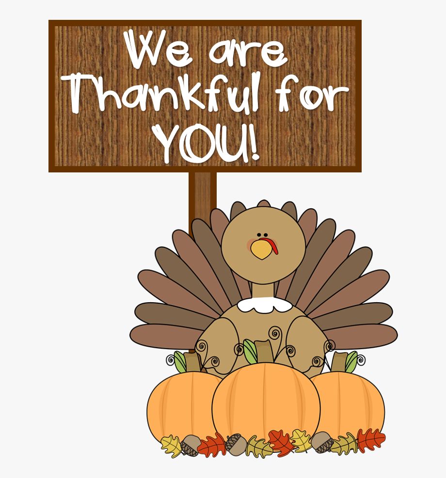 Happy Thanksgiving Clipart Thankful.