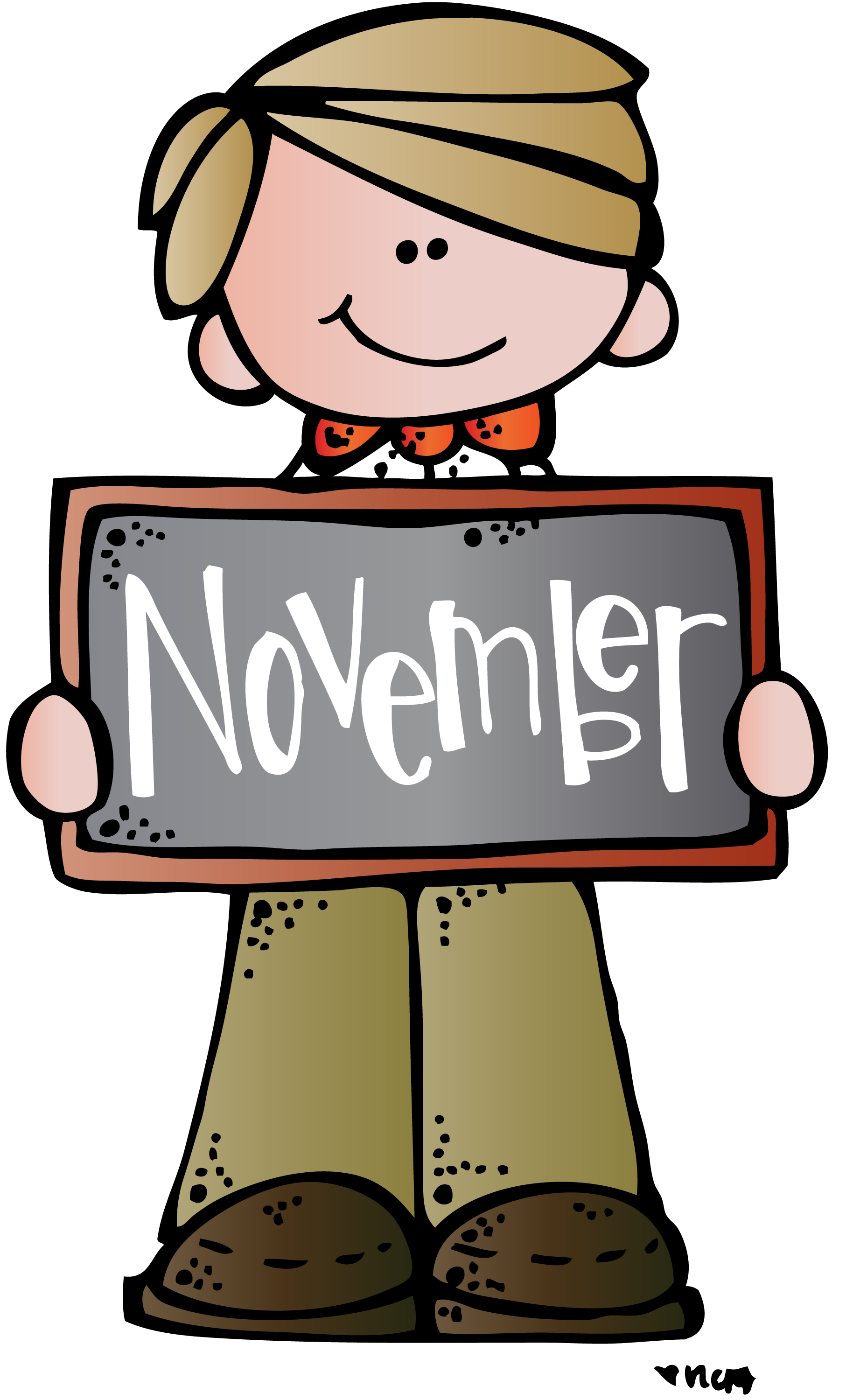 November Clipart for free download.