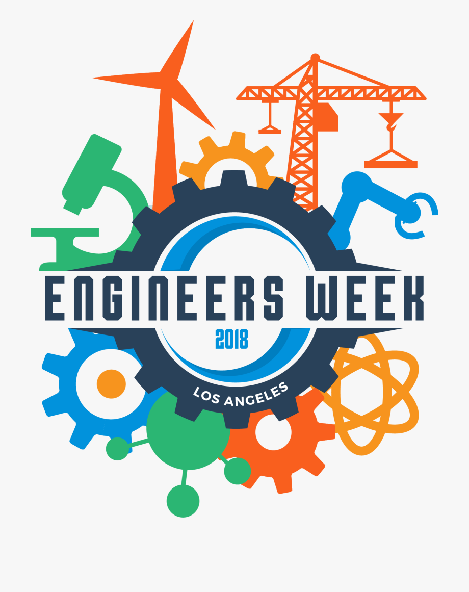 Happy Engineers Week 2018 , Transparent Cartoon, Free.