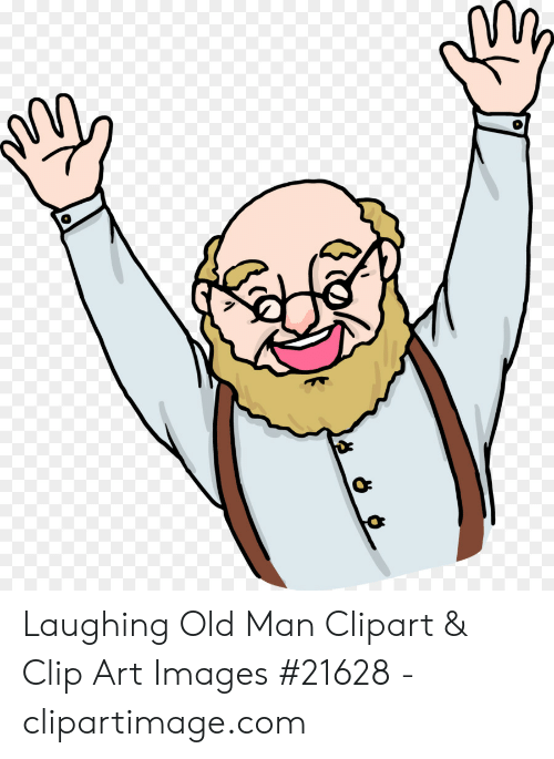 Laughing Old Man Clipart & Clip Art Images #21628.