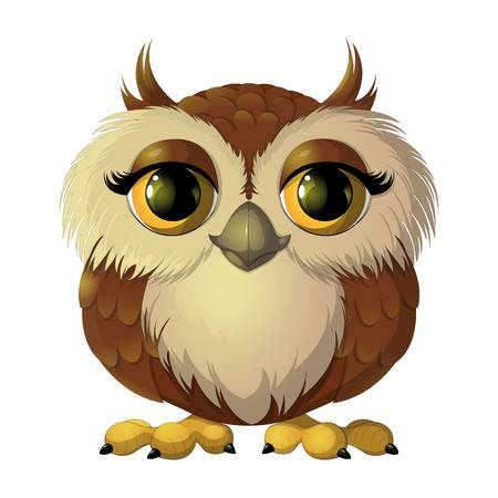 Happy Owl Cliparts 3.