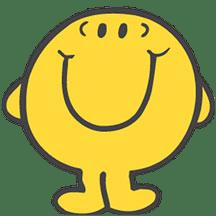 Mr. Happy transparent PNG.