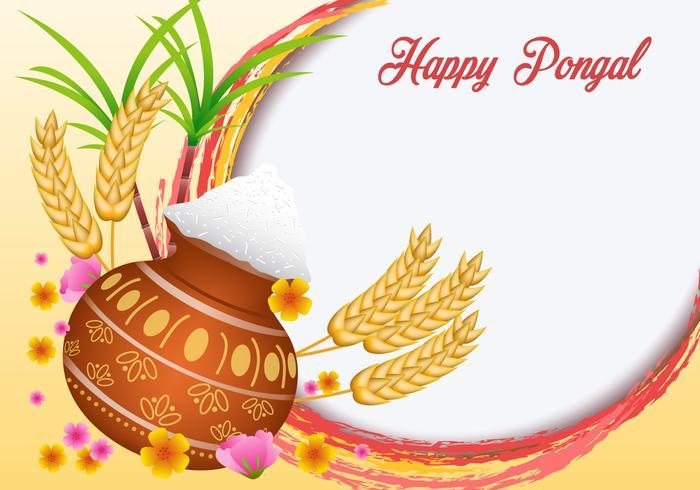 Happy Pongal Vector.