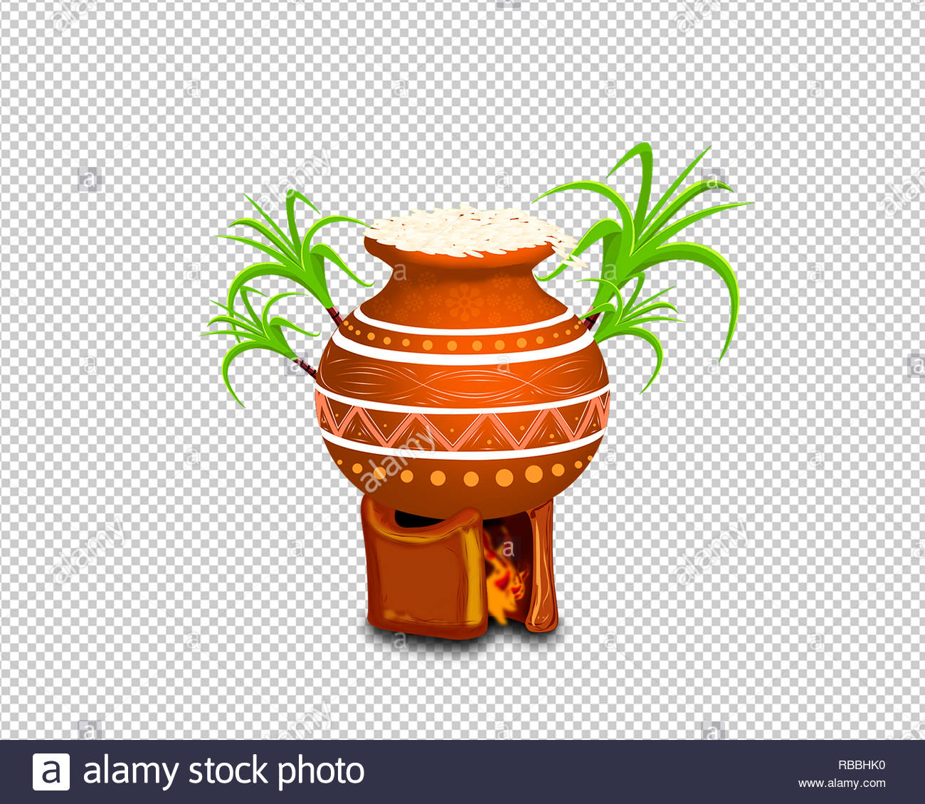 Happy Pongal Festival offer banners 2019, png designs Stock Photo.
