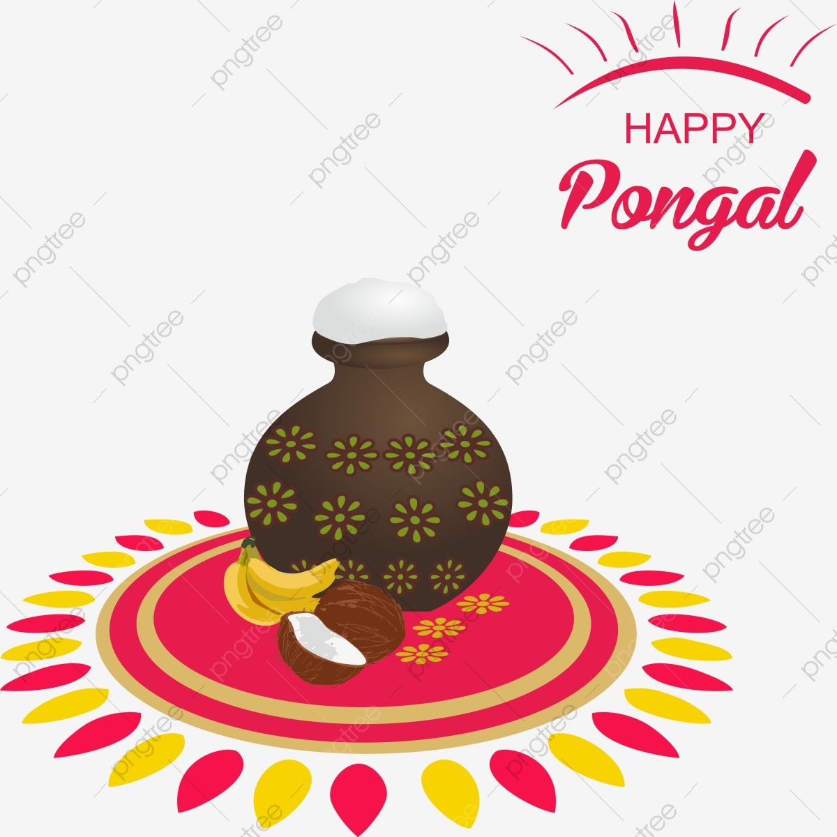 Happy Pongal, Pongal, Pongal Festival, Thai Pongal PNG Transparent.