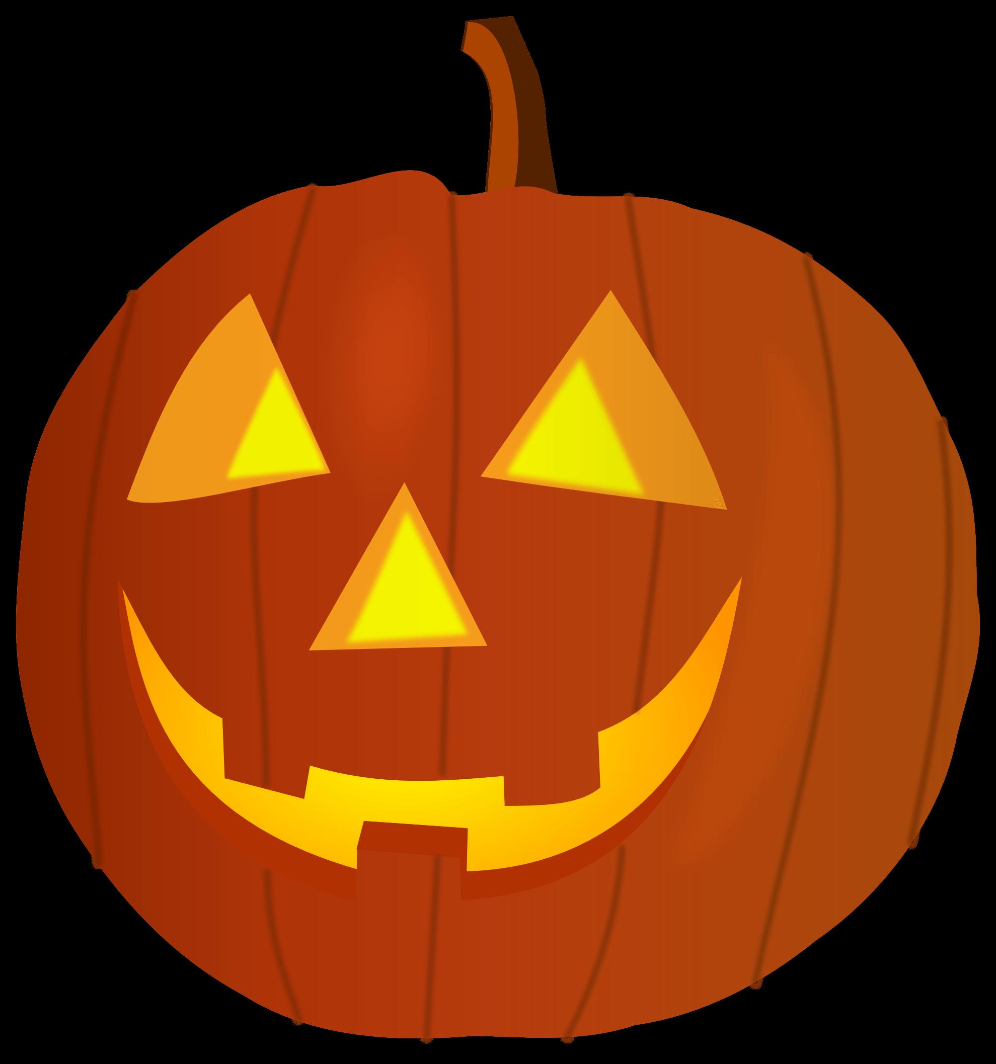 Happy Pumpkin Cliparts.