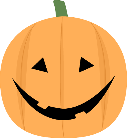 Happy Jack O Lantern Clipart.