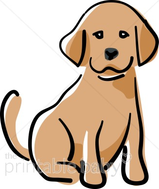 Happy Puppy Clipart.