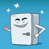 Happy refrigerator clipart » Clipart Portal.