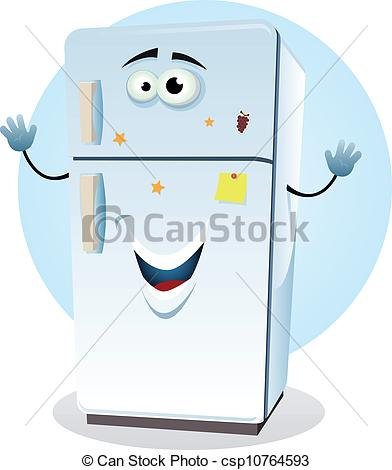 Cartoon Fridge.