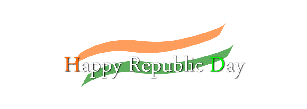 26 January Republic Day 2019 Background & Png Download.