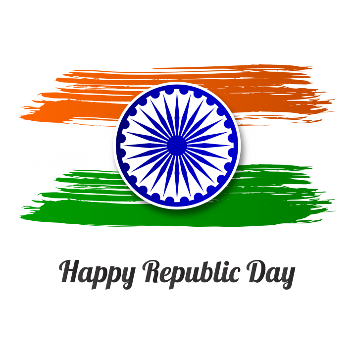 Happy Republic Day Transparent PNG Free Download searchpng.com.