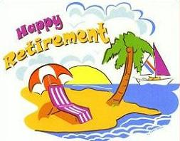 Free Happy Retirement Clipart.