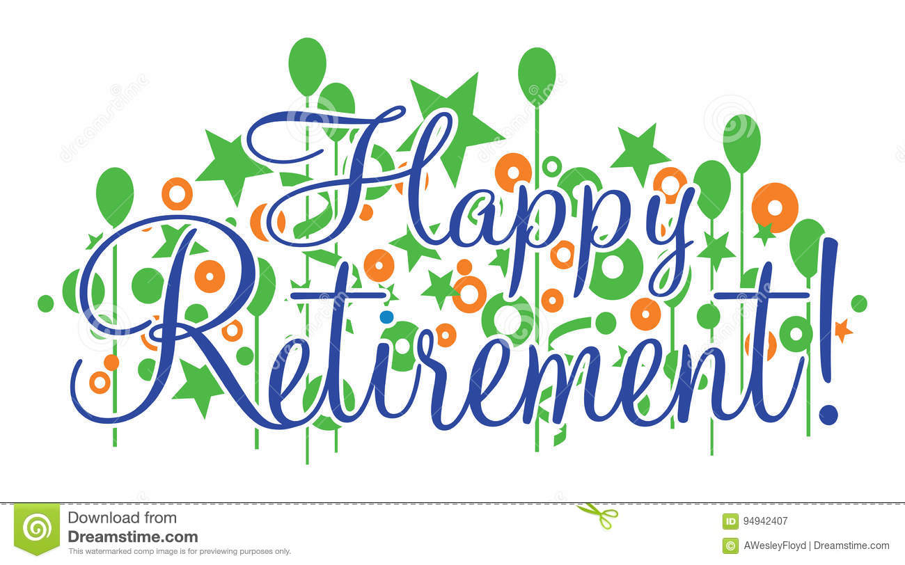 Happy retirement clipart 3 » Clipart Station.