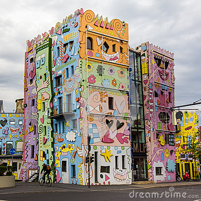 Happy Rizzi House. Editorial Stock Image.