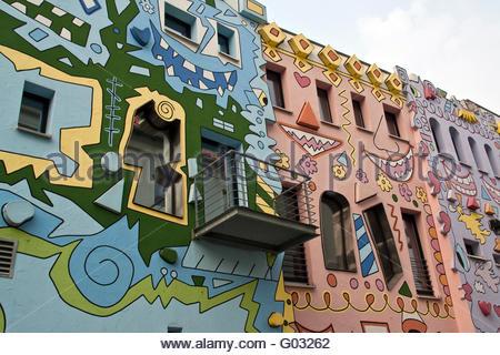 Happy Rizzi House , Germany, Brunswick Stock Photo, Royalty Free.