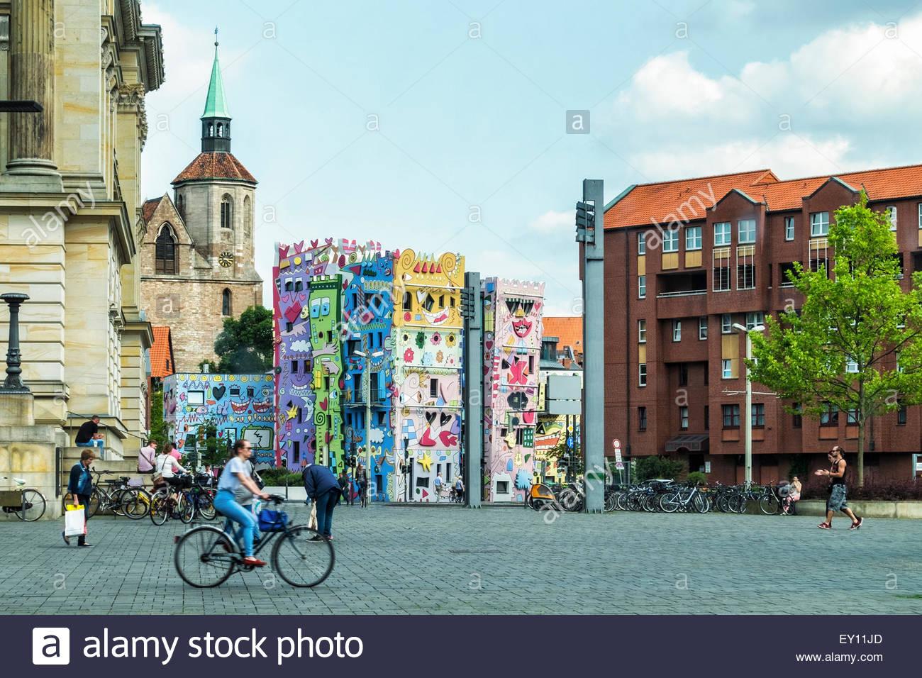 Braunschweig, Brunswick, Germany Happy Rizzi House, Artwork By.