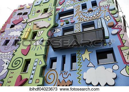 "Stock Photo of ""Happy Rizzi House, Braunschweig, Lower Saxony."
