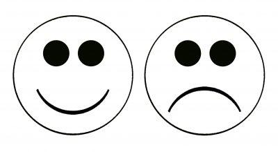 Happy Sad Faces.