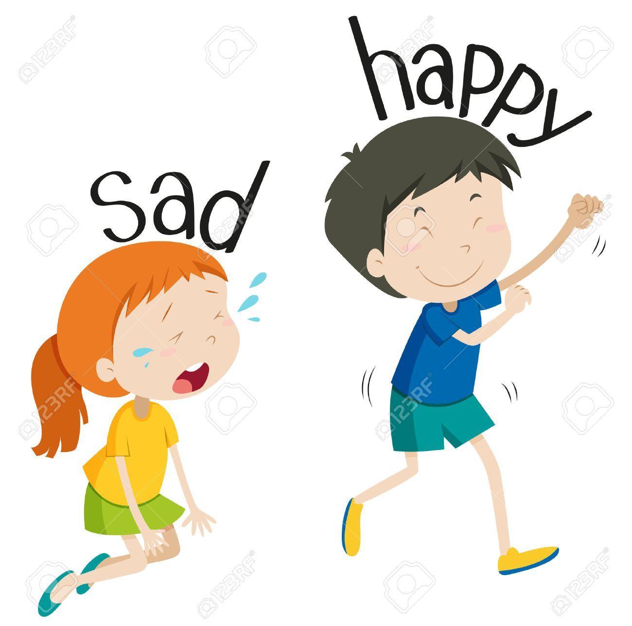 Happy sad clipart 4 » Clipart Portal.