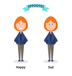 Happy and Sad Boy Clipart Vector Images (46).