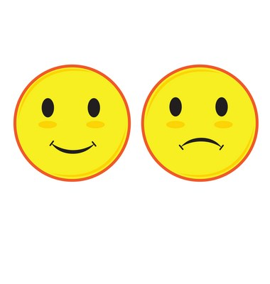 Happy sad face clipart 1 » Clipart Portal.