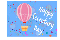 Secretarys Day Clipart.