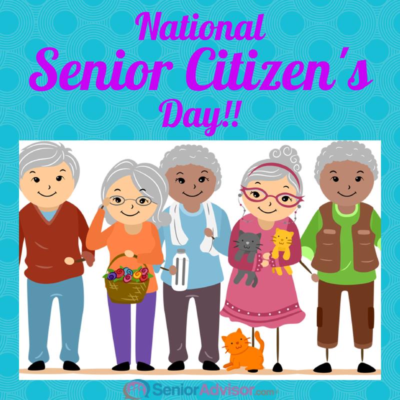 Happy National Senior Citizen\'s Day! #SeniorCitizen.