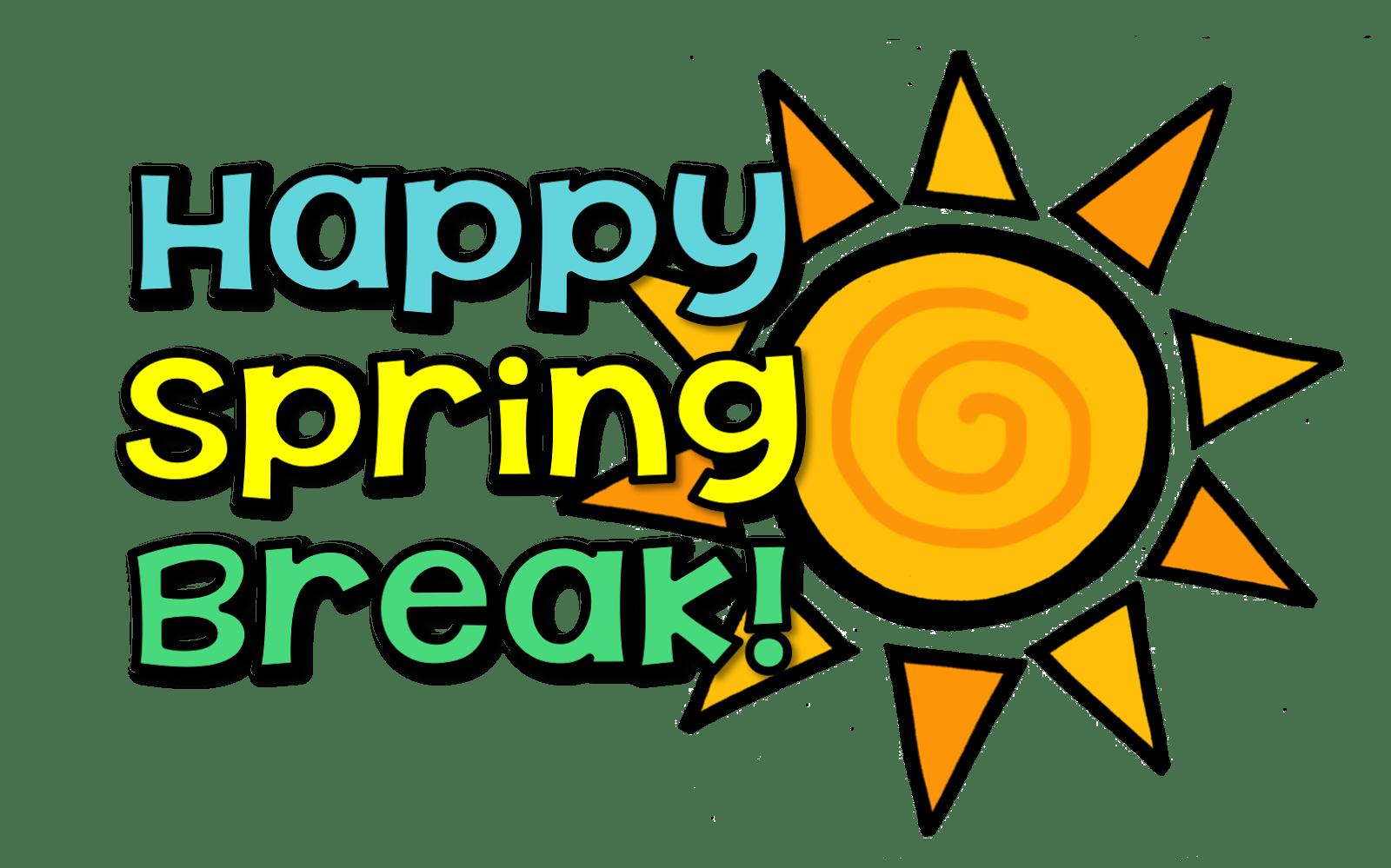 339 Spring Break free clipart.