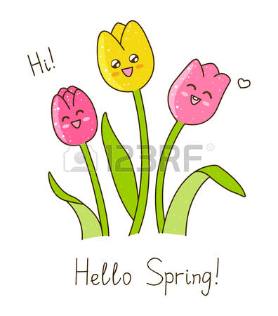 138,562 Happy Spring Stock Vector Illustration And Royalty Free.