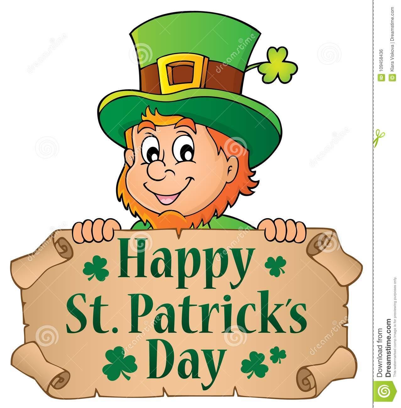 Happy St Patricks Day Theme 4 Stock Vector.