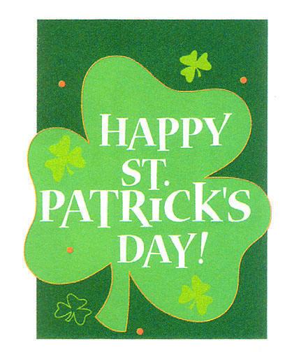 HAPPY ST PATRICK'S DAY clipart.