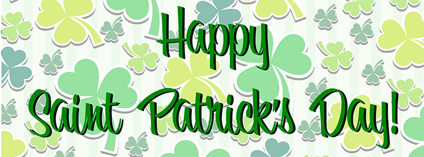 Free St. Patrick's Day Facebook Covers.