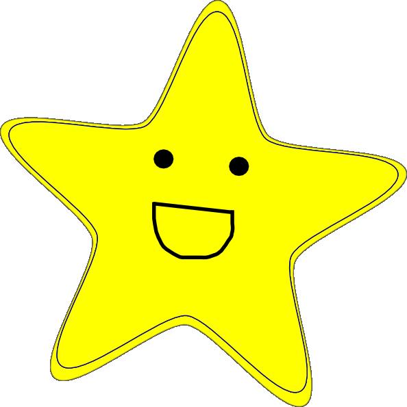 Happy Star Clip Art at Clker.com.