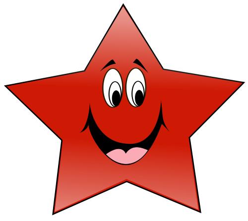 Happy Star Clip Art Download.