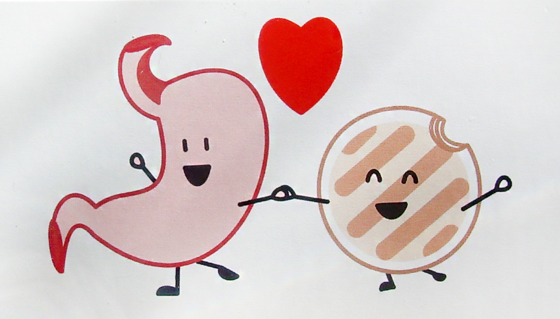 Happy Stomach Clipart.