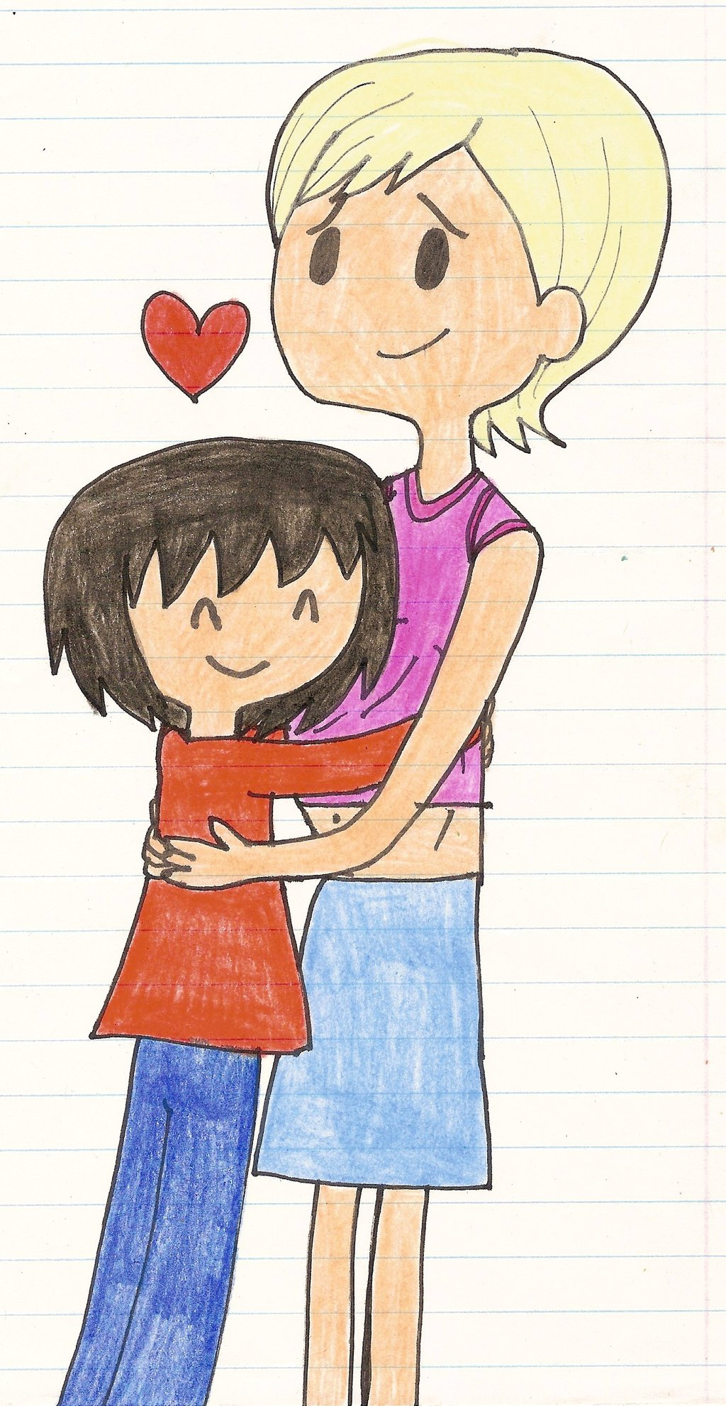 Student And Teacher Hugging Clipart Clipground