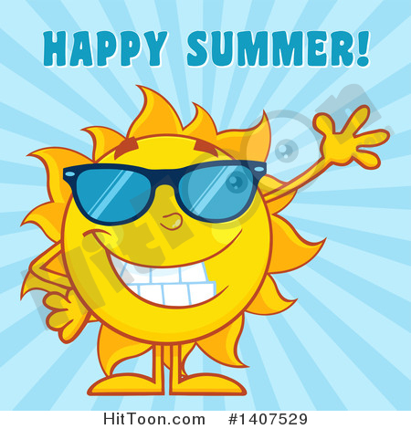 Happy Summer Clipart #1.