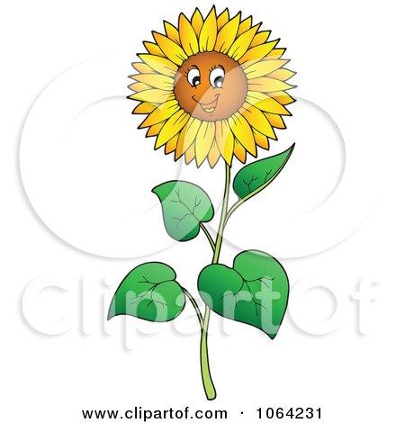 happy sunflower clipart - Clipground