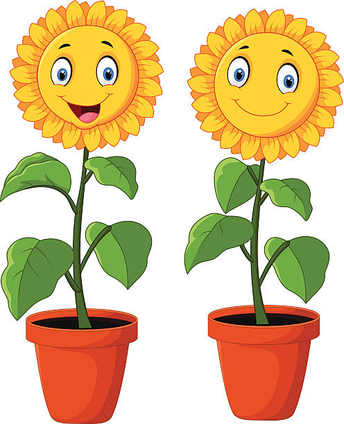 happy sunflower clipart - Clipground