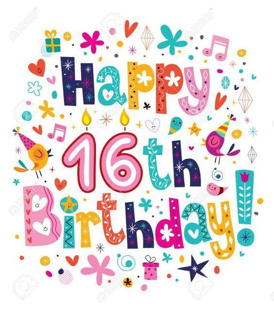 Happy Sweet 16 Birthday:.