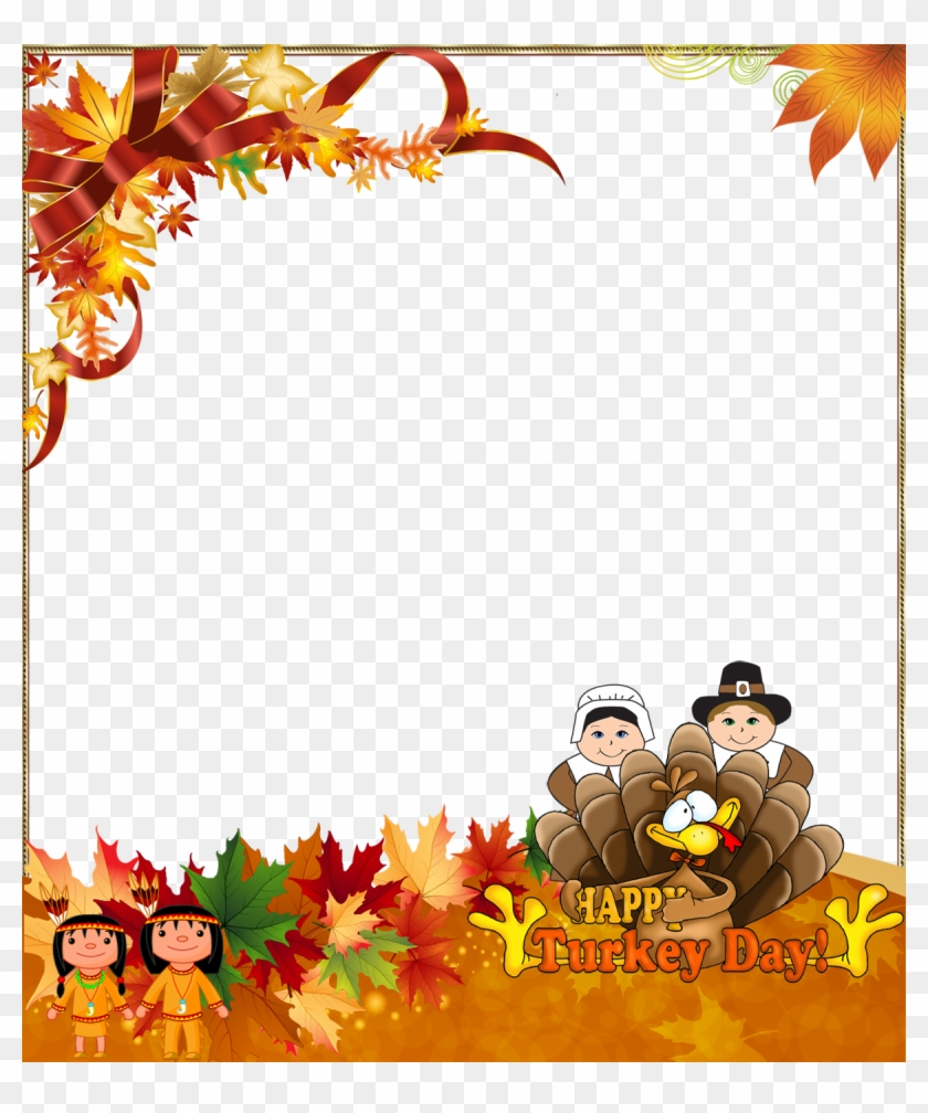 Download Free png Happy Thanksgiving Border Png Free Transparent PNG.