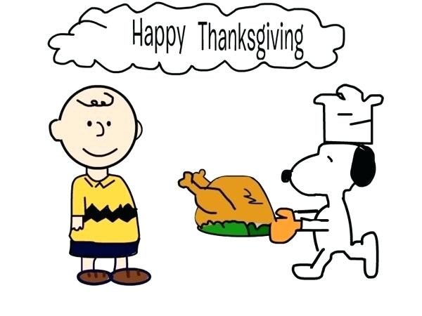 snoopy thanksgiving clipart.