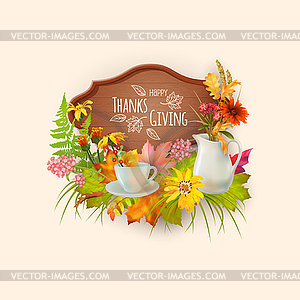 Happy Thanksgiving Card.